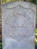 Avery Mustain Headstone
