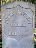 Avery Mustain Headstone