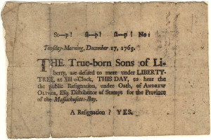 1765 Broadside