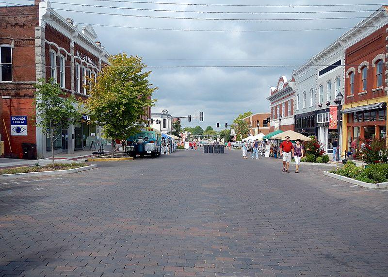 Rogers  Brick Streets