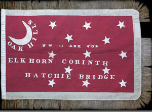 NW Arkansas Infantry Flag